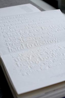 """""""Buch³"""" Bücher sind Volumen im Raum"""